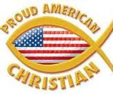 Christian America Fish Logo
