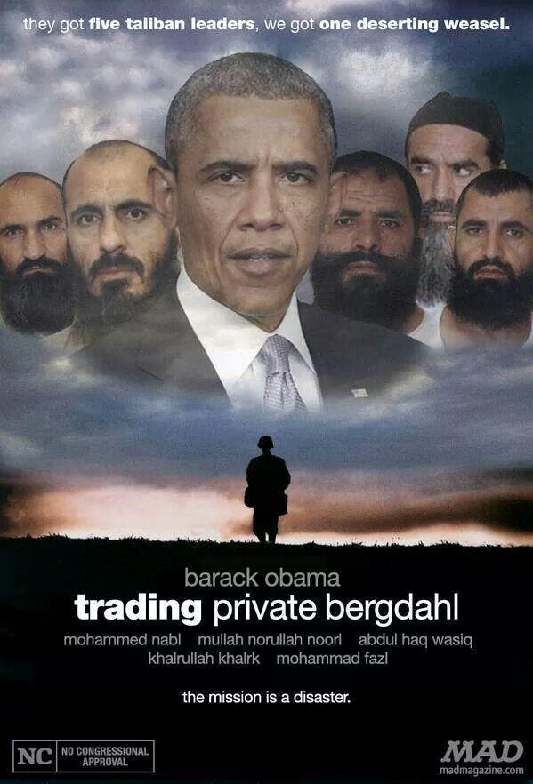 Obamatradingprivatebergdahl