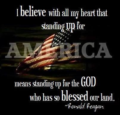 GodRonald ReaganFlag9122014
