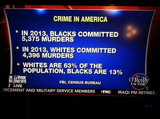 Black Crime Statistics Fox News 12614