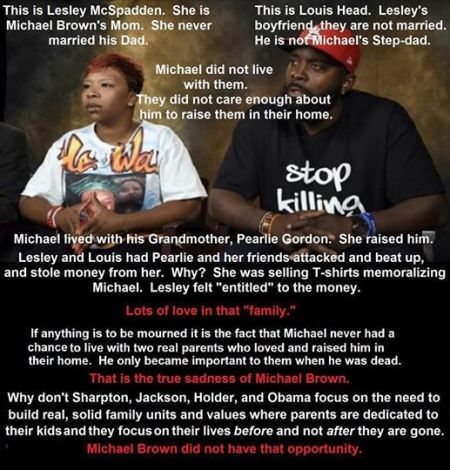 Michael Brown's Parents 12614