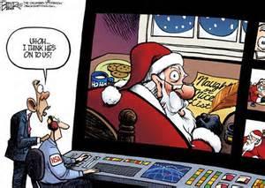 Santa and Obama 121014