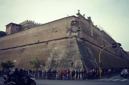 Vatican-wall