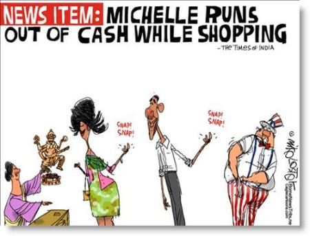 michelle-obama-spending-political-cartoon