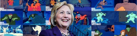hillary-is-a-scooby-doo-villain