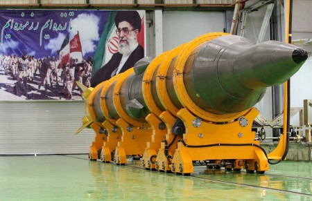 iran Sejil-2 two-stage solid-fuel surface-to-surface medium-range ballistic missile (MRBM) 2000km (5)