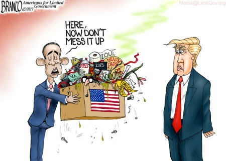 obama-handing-trump-a-mess-cartoon