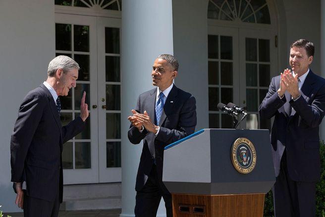 Comey-Obama-applaud-Mueller