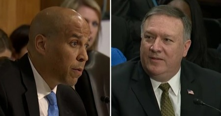 cory-booker-mike-pompeo