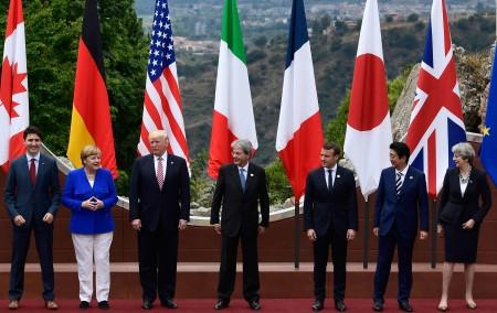 TOPSHOT-ITALY-G7-SUMMIT