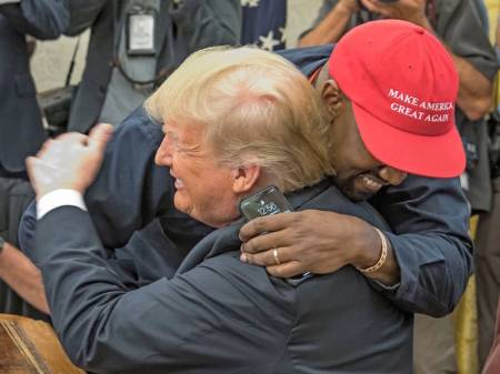 Kanye West meets with Donald Trump, White House, Washington DC, USA - 11 Oct 2018