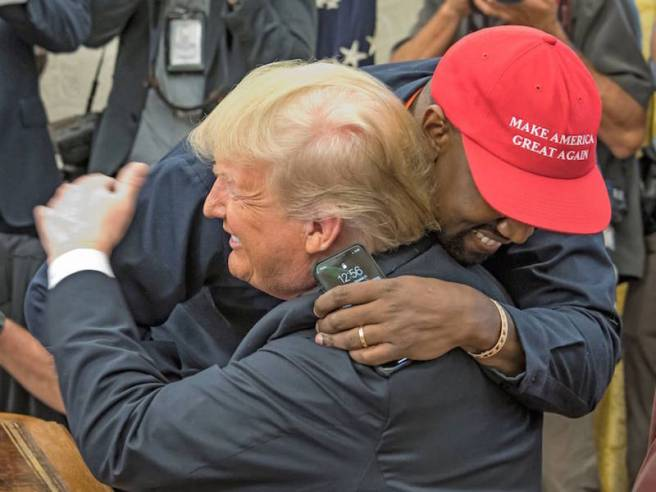 Kanye West meets with Donald Trump, White House, Washington DC, USA - 11 Oct 2018