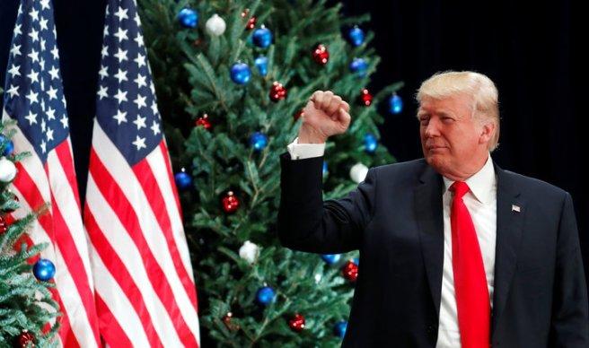 U.S. President Donald visits St. Louis, Missouri to speak about tax reform