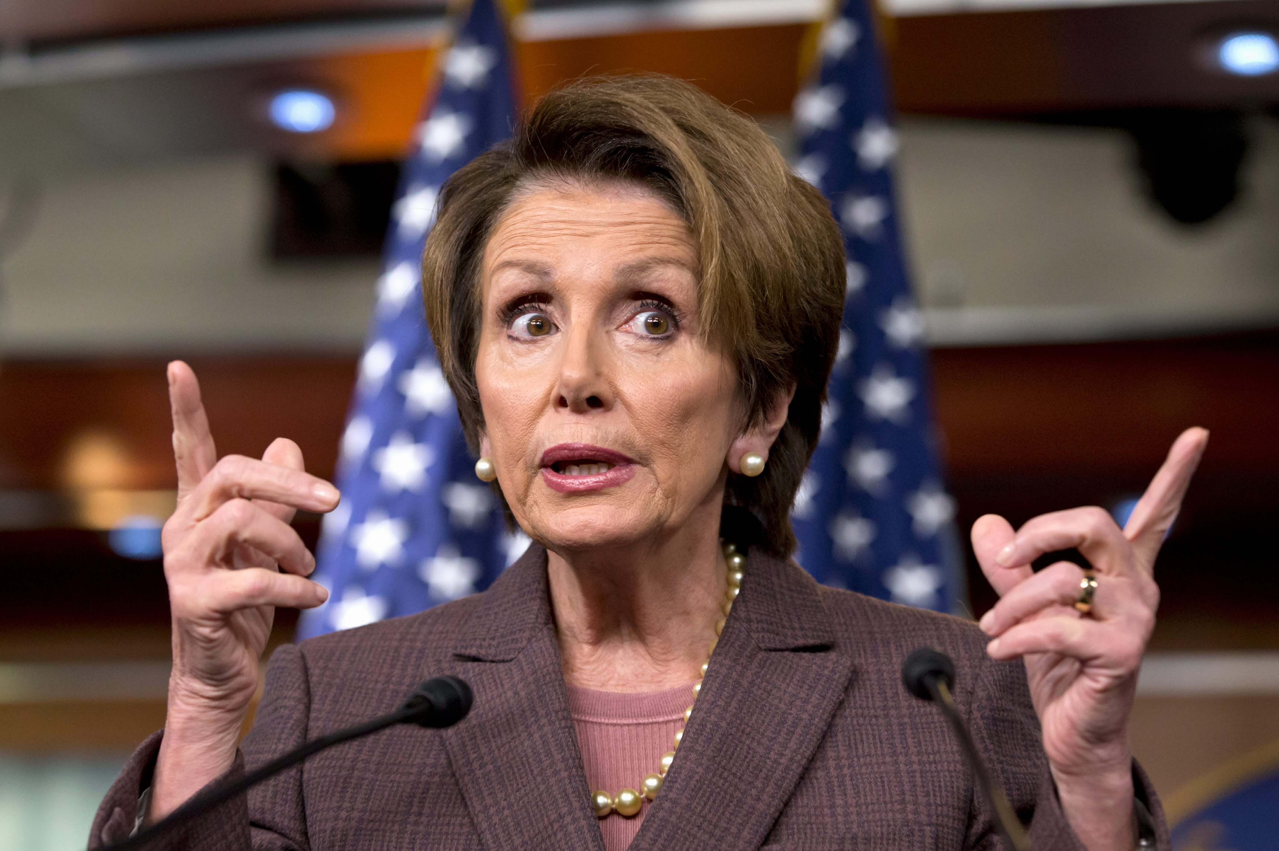 Pelosi Launches Twitter Attack Against Trump, Asks What ...