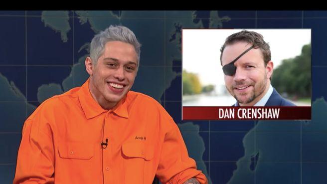 Pete-Davidson-SNL-mocking-Crenshaw