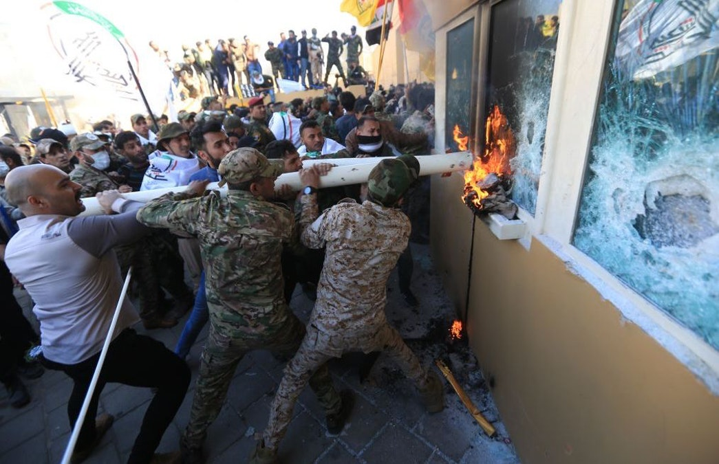 Attack-On-U.S.-Embassy-In-Baghdad