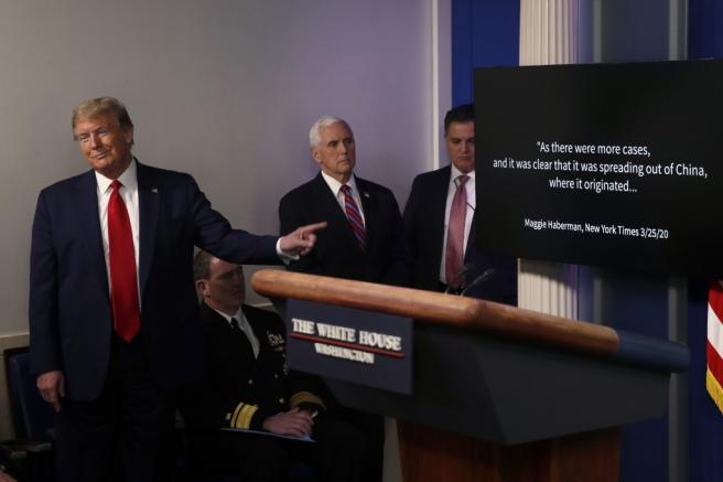 Virus Outbreak Trump, Washington, United States - 13 Apr 2020