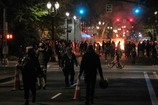 DHS-chief-denounces-'lawless-anarchists'-in-Portland-amid-ongoing-protests