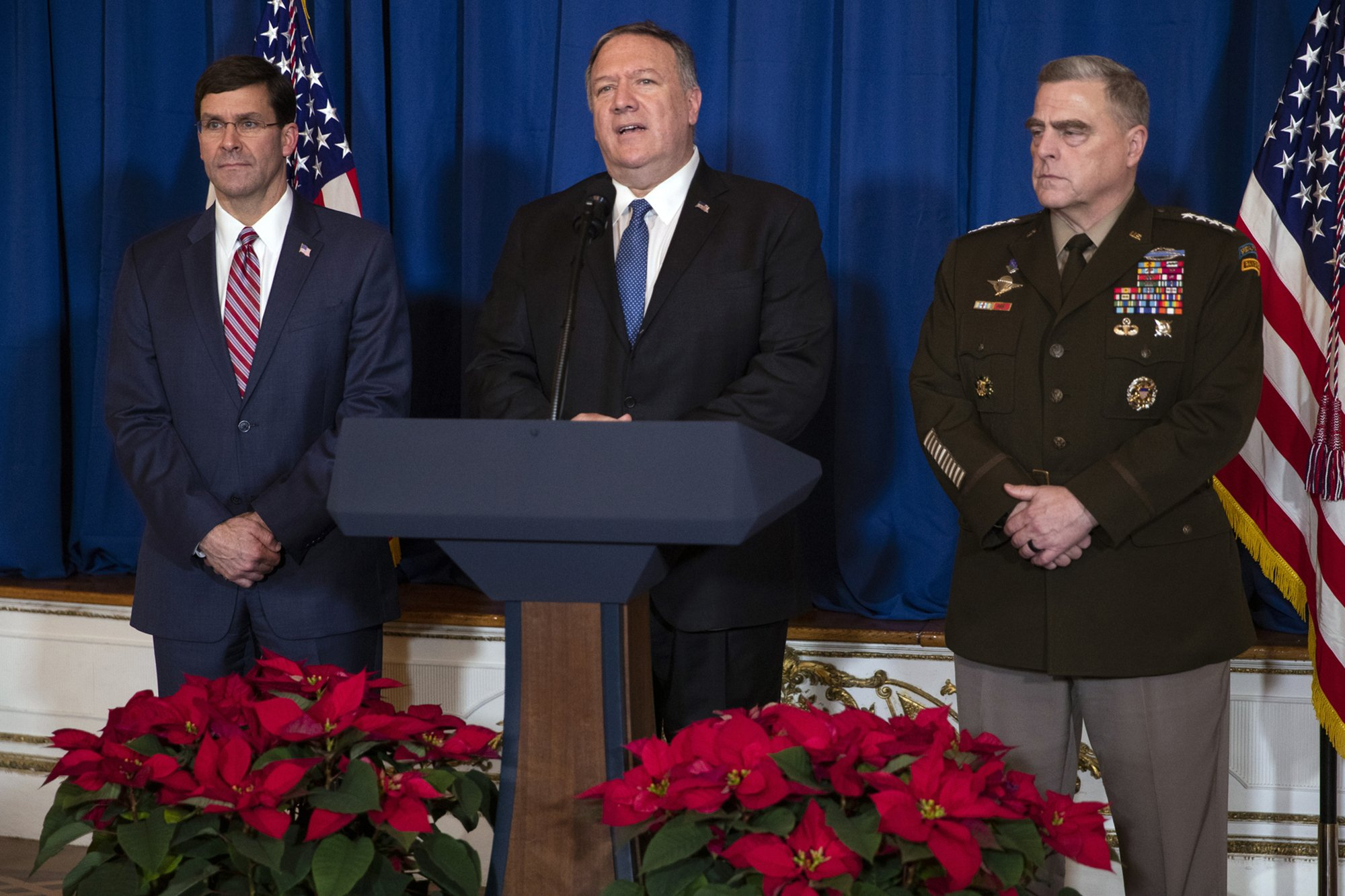 Pompeo and Milley