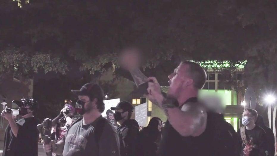 Antifa UNT Vigil