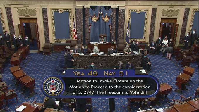 Senate Filibuster Voting Rights Act